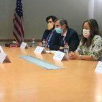 Sandoval está en Washington y se reúne con funcionarios de Biden