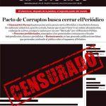 El Periódico denuncia nuevos ataques del Presidente Giammattei y el MP